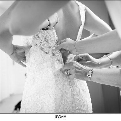 Robe mariée glamour