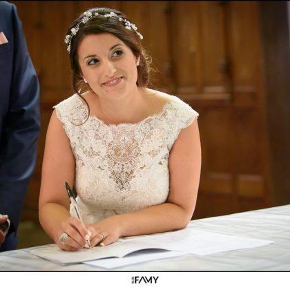 Robe dentelle mariée