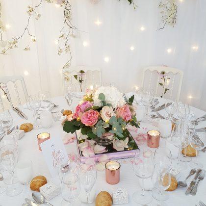 mariage rose gold