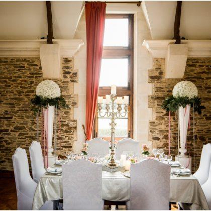 Table d'honneur mariage glamour