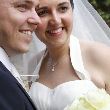 mariage gris et Blanc