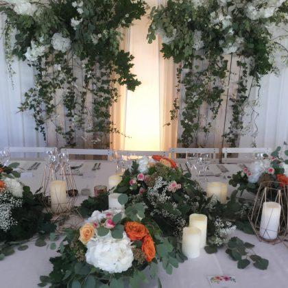 décoration tente mariage