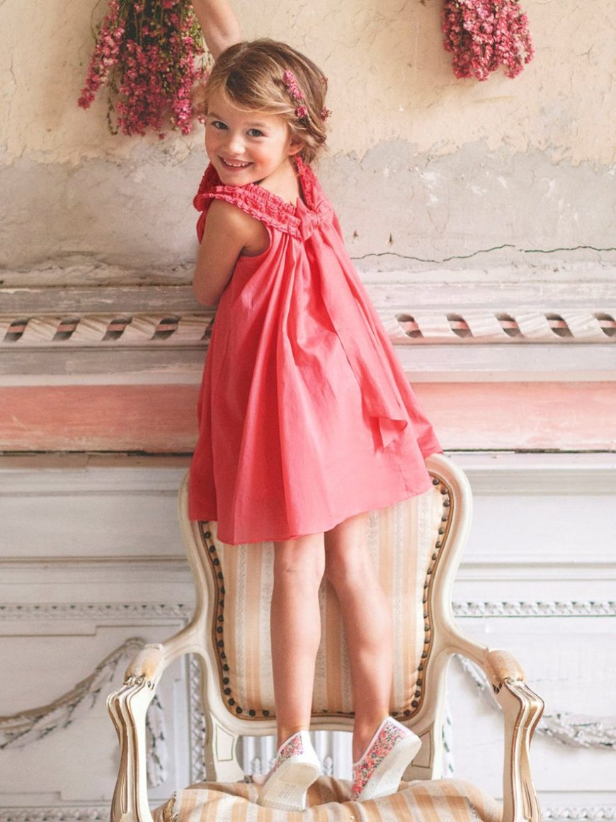 Robe corail-agence passionnement