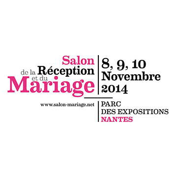 salon du mariage nantes 2014 agence passionn ment. Black Bedroom Furniture Sets. Home Design Ideas